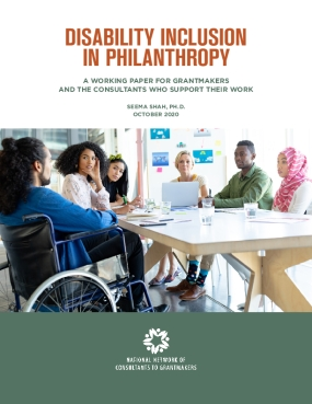 Disability Inclusion in Philanthropy