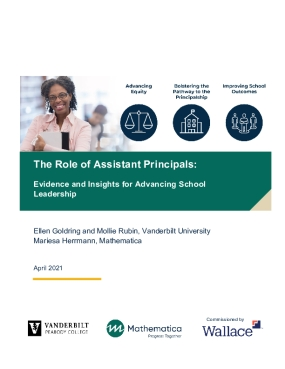 The Role of Assistant Principals: Evidence and Insights for Advancing School Leadership